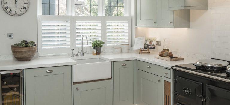 رنگ سبز در دکوراسیون آشپزخانه