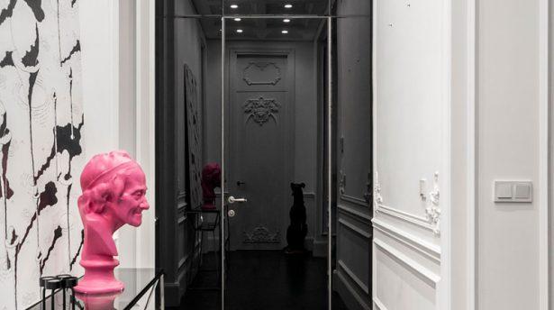 طراحی آپارتمان با سبک مدرن و کلاسیک